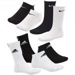 eBay WOW: 9er Pack Adidas / Nike Sneaker Socken für 19,99€ inkl. Versand