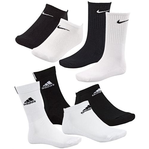 ebay wow 9er pack adidas nike sneaker socken f r 19 99. Black Bedroom Furniture Sets. Home Design Ideas