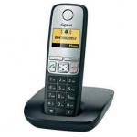 Gigaset A400 schnurloses analog Telefon (beleuchtetes Display, Schwarz) für 24,95€ inkl. Versand