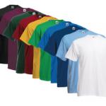 eBay WOW: 10 Fruit of the Loom T-Shirts in den Größen S bis 3XL für 21,99€ inkl. Versand