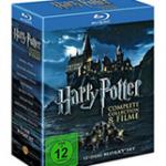 Harry Potter Komplettbox DVD für 29,99€ oder Blu-Ray für 39,99€