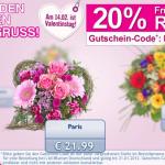 20% Rabatt auf Lidl Blumen dank Gutscheincode + kostenlose Lieferung
