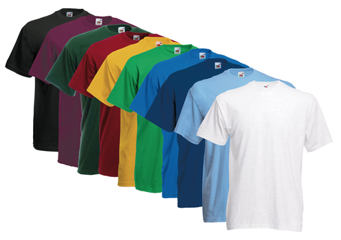 10 Fruit of the Loom T-Shirts