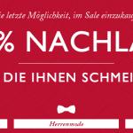 50% Sale bei Tommy Hilfiger + 10% Gutschein bei Newsletteranmeldung