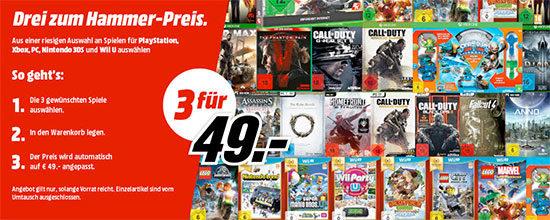 Media Markt Aktion Games Spiele Bundle Deal