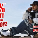 80% Rabatt bei Hoodboyz dank Gutscheincode – nur heute!