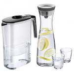 Amazon: WMF Aquarista-Set (4-teilig – Filterkaraffe Dara schwarz, Wasserkaraffe 1 L Basic schwarz, 2 Wassergläser) für 39,95€ inkl. Versand