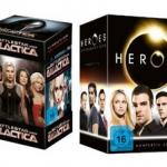 Amazon: 4 Serien-Komplettboxen (Battlestar Galactica, A-Team, Heroes und Miami Vice) für je 29,99€ inkl. Versand