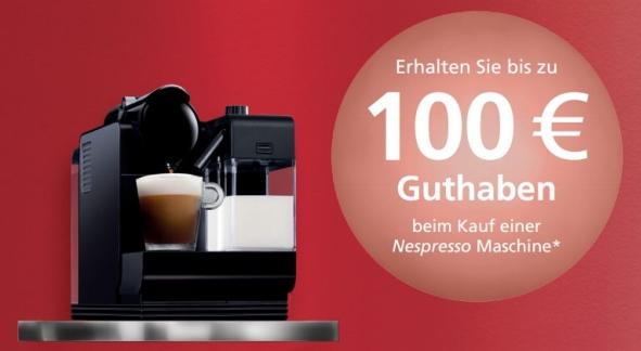 amazon nespresso cashback aktion 100 oder 70 auf auserw hlte modelle. Black Bedroom Furniture Sets. Home Design Ideas