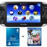 Amazon: Playstation Vita (Wifi) mit Little Big Planet und 4GB Speicherkarte für 170€ inkl. Versand