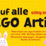 20% Rabatt auf Lego Artikel ab 30€ Mindestbestellwert