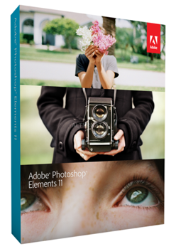 Adobe Photoshop Elements 11 Vollversion auf CD/DVD