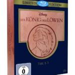 Der König der Löwen 1-3 – Trilogie (Holzbox) auf Blu-ray für 26,97€ inkl. Versand