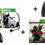 Xbox 360 (250 GB) + 2 Controller + Batman Arkham City, Crysis 3, Darksiders 2 & Battlefield 3 für 241€ inkl. Versand