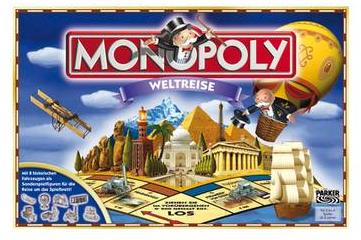 Monopoly Weltreise bei Galeria-Kaufhof