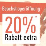 20% auf Beach-Kleidung bei Dress-for-less dank Neueröffnung