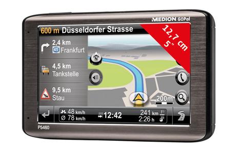 Medion P5460 Navi mit 4GB Speicher (Europa Kartenmaterial)