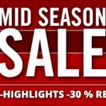 Mid Season Sale bei Hirmer mit bis zu 30% Rabatt