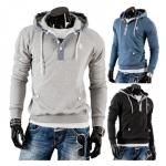 Bolf Herren Sweatshirt mit Kapuze für 19,95€inkl. Versand