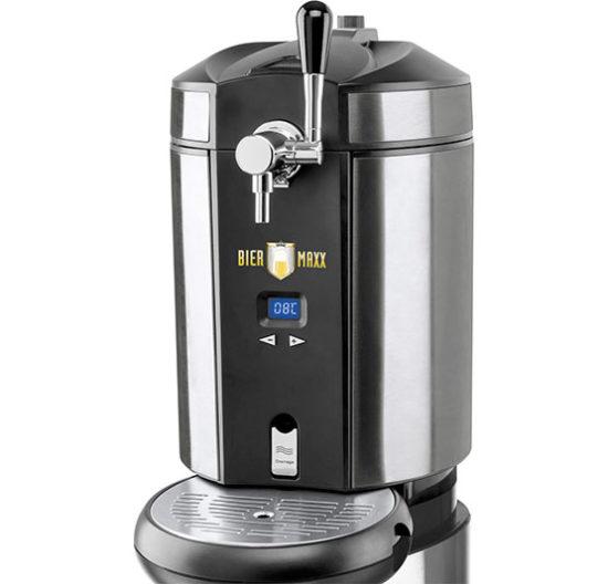 BierMaxx Bierzapfanlage Maxx 1428 mit Aktivkühlung für 5 Liter-Fässer