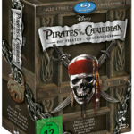 Pirates of the Caribbean – Die Piraten-Quadrologie ab 18,70€ inkl. Versand