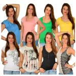 Frauen Sommer Shirts, Tops und T-Shirts je für 9,95€ inkl. Versand