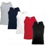 Fruit ot the Loom ATHLETIC VEST – 8er Pack Tanktops für 18,88€ inkl. Versand