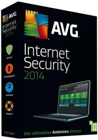 1 Jahr lang AVG Internet Security & AntiVirus Pro 2014 kostenlos nutzen