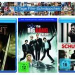 5 Tage Film-Schnäppchen mit guten Blu-ray, DVD, Komplettboxen Angeboten und Vieles mehr bei Amazon