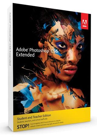Adobe Photoshop CS6 Extended (Studenten und Lehrer PC Edition)