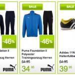 Fußball Sale bei Plutosport: bis zu 75% Rabatt auf Sportbekleidung