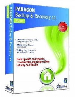 Paragon Backup & Recovery 11 Compact (English Version) gratis downloaden