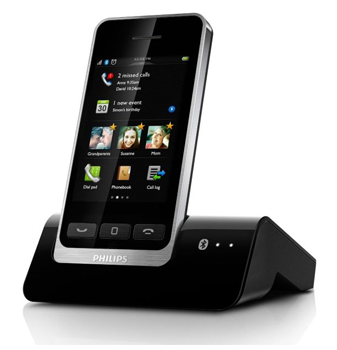 philips s10a schnurloses telefon mit anrufbeantworter f r 99 inkl versand. Black Bedroom Furniture Sets. Home Design Ideas