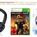 Stargate Atlantis Komplettbox, Gears Of War: Judgment für Xbox, Xanthos Stereo Headset und mehr bei den Amazon Herbstschnäppchen