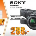 Super Sunday Angebote bei Saturn – u.A. Sony Alpha NEX-3N Kamera oder Philips 46PFL4418K Fernseher