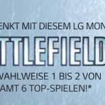 Ausgewählten LG Monitor kaufen und dazu gratis Battlefield 4 oder 1 bis 2 andere Top-Spiele erhalten