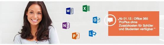Microsoft Office 365 Pro Plus für Schüler & Studenten ab 1. Dezember kostenlos