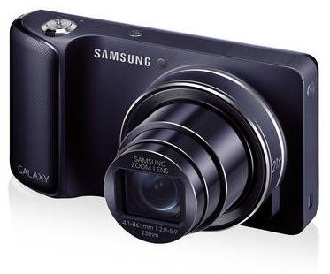 Samsung Galaxy Kamera GC100 mit Android 4.1