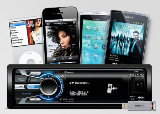 Sony DSX-S100 - Autoradio mit iPod Dock und USB Eingang