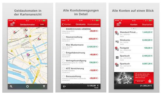 Sparkasse+ App für Smartphones