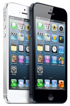 Apple iPhone 5S mit 16GB Speicher in Schwarz oder Weiß