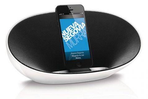 philips ds3400 ipod und iphone dockingstation mit lautsprecher f r 79 99 inkl versand. Black Bedroom Furniture Sets. Home Design Ideas