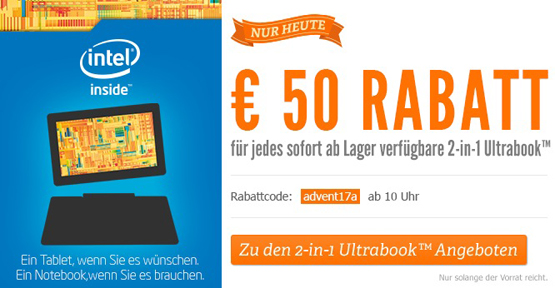 2-in-1 Ultrabook bei Notebooksbilliger