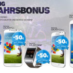 Bis zu 100€ Cashback auf Smartphones und Tablets aus dem Hause Samsung