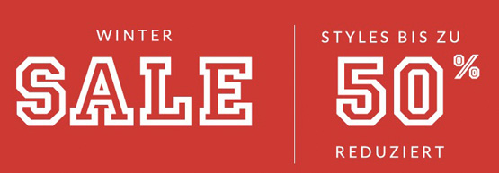 Winter Sale bei Tom Tailor