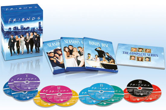Friends Blu-Ray serie alle staffeln angebot deal günstig