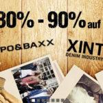 80-90% Rabatt auf Cipo&Baxx und Xint Kleidung bei Hoodboyz