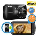Nikon COOLPIX S800c Digitalkamera für 135,90€ inkl. Versand
