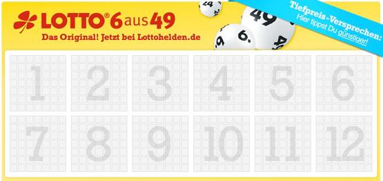 Gratis Tipp bei Lottohelden