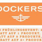 Dockers: Bis zu 40% Rabatt auf deine Bestellung